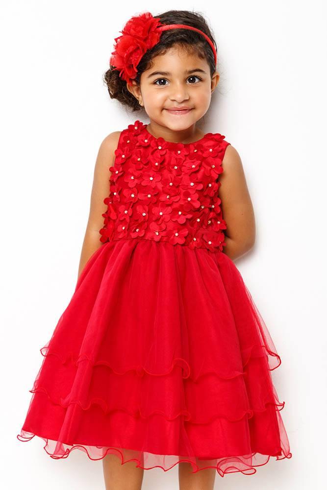 vestido_vermelho_com_tule_e_flores_em_cetim